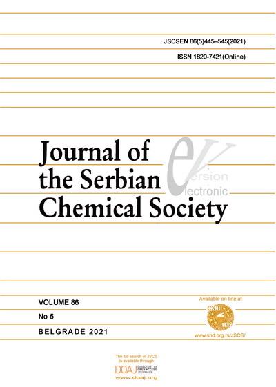 J. Serb. Chem. Soc. 86(5) 2021 445-545