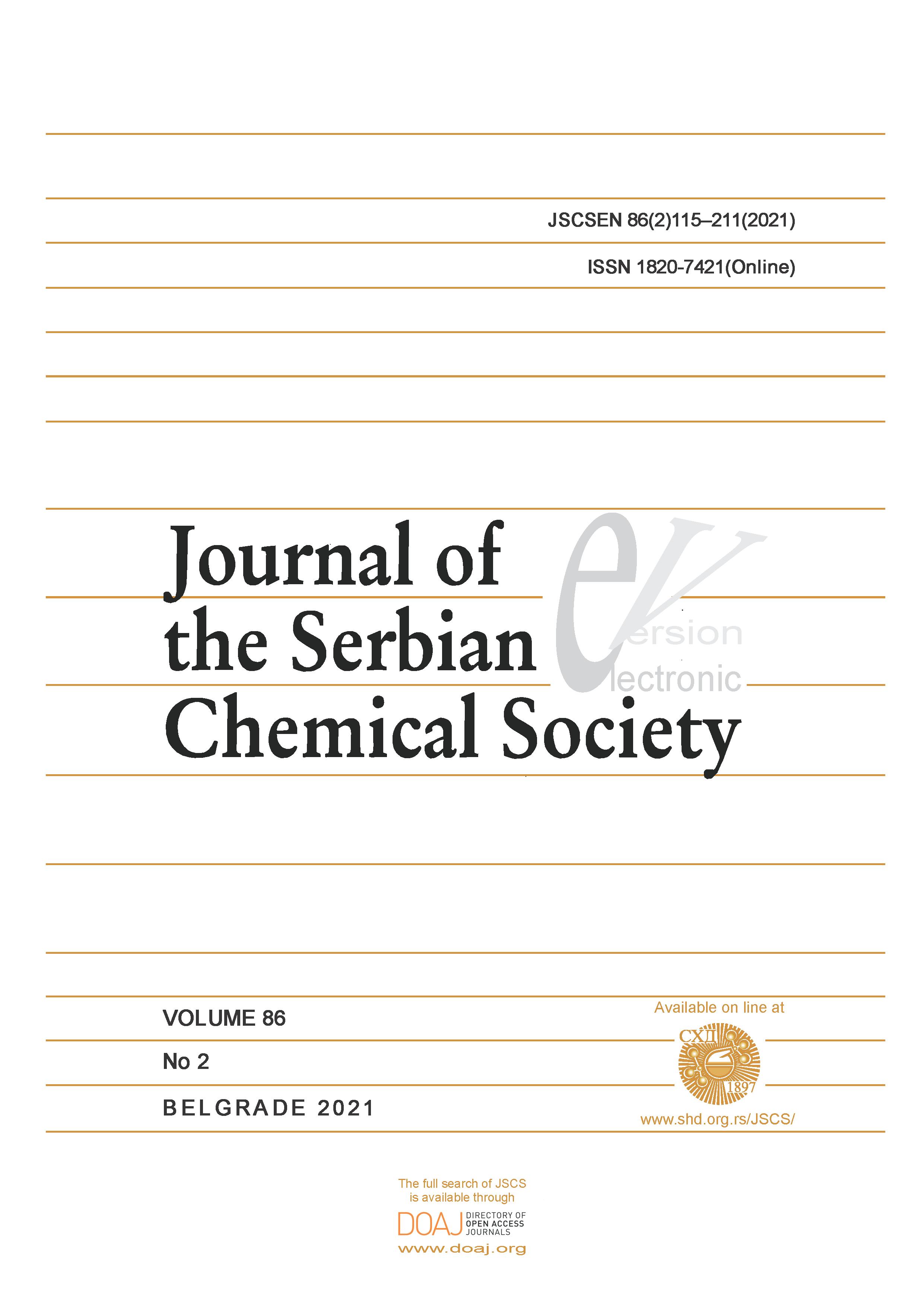 J. Serb. Chem. Soc. 86(2) 2021 115-211